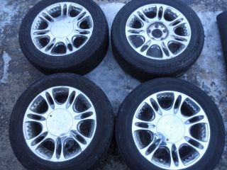 Cadillac Vogue Chrome Wheels 16in 4