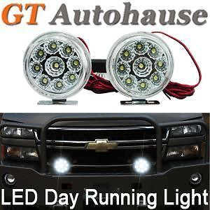 4x4 Off Road Jeep Wrangler Dodge Journey Ford Edge Fog Driving Light Lamps U
