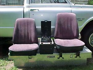 Original Bucket Seats Consol 1967 1972 Chevy Pickup Truck C10