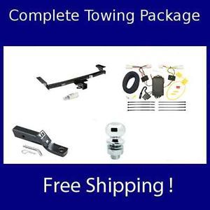 2009 2012 Nissan Murano Reese Complete Towing Package Hitch Wiring Ball Mount