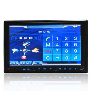 "Double DIN 7"" Touch Screen in Dash Car Stereo Radio RDS"