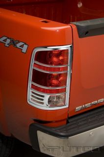 Putco 400889 Sierra Pickup Chrome Tail Light Covers