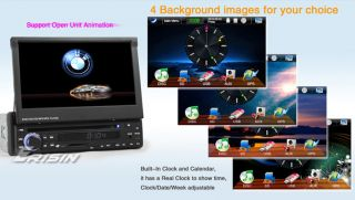 "Erisin ES818G 7"" HD 1 DIN Car Stereo DVD Player Touch Screen Autoradio GPS TV 3D"