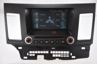 2007 08 09 10 11 Mitsubishi Lancer in Dash DVD GPS Navigation Radio Stereo Navi