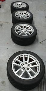 Camaro SS Alloy Ten Spoke Wheels Rims 17x9 Nitto 555R Kumho Tires