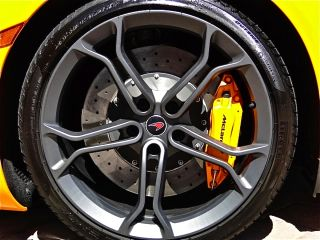 Set Genuine McLaren MP4 12C Optional Lightweight Forged Stealth Wheels Tires