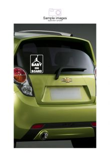 Large 173 250mm Baby on Board Basketball Sticker Reflective Decal Sticker