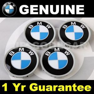 X4 Genuine BMW 70mm Wheel Center Caps Z3 Z4 M3 M5 x3 X5