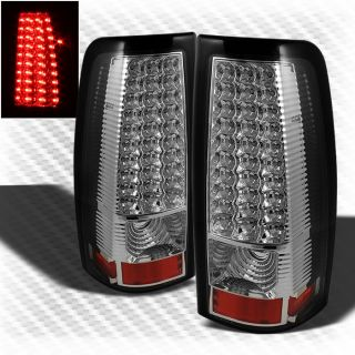 99 02 Chevy Silverado 99 03 GMC Sierra LED Tail Lights Brake Lamp Pair New Set