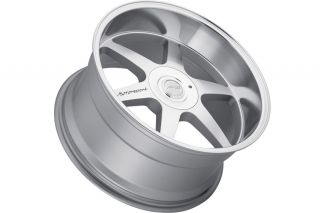 "20"" Nissan 350Z MRR MK1 Machined Silver Staggered Rims Wheels"