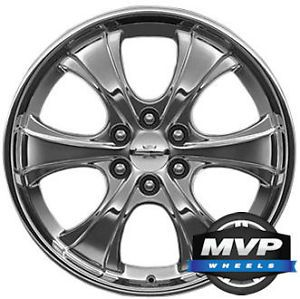 "Factory 22"" 22 Chrome OE GM GMC Chevrolet Cadillac Wheels Rims CK922 New"