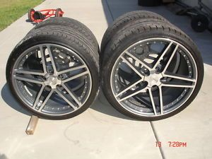 97 04 1997 2004 Corvette C5 19 20 C6 Z06 Motorsport Style Wheels Rims Tires