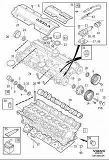 New Goetze Engine Cylinder Head Gasket Volvo S70 850 93 99 3531017