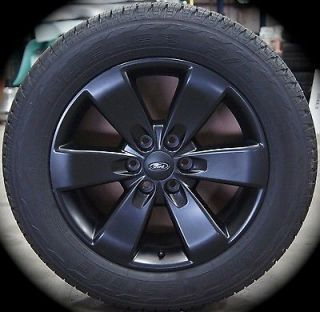 "New 2004 2013 Ford F150 FX4 Black 20"" Factory Wheels Rims Tires Expedition"