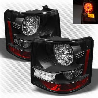 2006 2009 Land Rover Range Rover Sport LED Tail Lights Rear Lamp Pair New Set