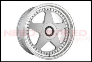 "18"" Avant Garde M240 Silver Staggered Wheels Rims Fits Scion FRS TC Subaru BRZ"