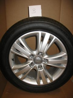 Audi Q7 19 inch Factory Wheels and Tires Original Take Offs VW Porsche