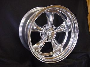 "1 20x9 5 "" Torq Thrust 2 Chevelle GM Chevy Ford Wheels American Racing Genuine"