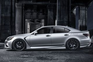 "19"" Lexus GS300 GS400 GS430 Avant Garde M310 Gray Concave Staggered Wheels Rims"