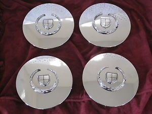 4 Cadillac DeVille DTS Seville El Dorado Wheel Center Caps Hubcaps Chrome Set