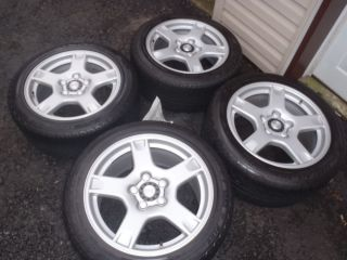 97 99 Corvette C5 Factory Wheels with Michelin Tires Set of 4