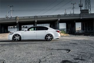 "20"" Lexus gs350 GS460 GS Stance SC 6IX SC6 Grey Concave Staggered Wheels Rims"