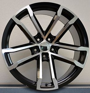 New 20x10 20x11 Staggered Style 41 ZL1 Fits 2010 Up Camaro Wheels Rims Set BMF