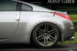 "20"" Nissan 350Z Avant Garde M368 Concave Staggered Rims Wheels"