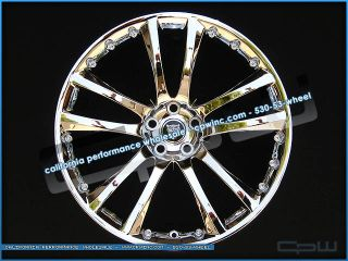"4 New 20"" Senta Chrome Wheels Rims Tires Package Deal Fits 2008 2012 Jaguar XF"