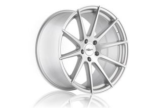 "20"" Infiniti M37 M56 Incurve IC S10 S10 Concave Silver Staggered Wheels Rims"