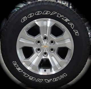 "New 2014 Chevy Silverado Z71 LTZ Tahoe Suburban Avalanche 18"" Wheels Rims Tires"