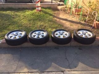 Nissan Wheels Rims Factory Excellent Condition Plus Tires