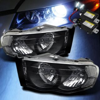 2009 Dodge RAM Black Head Lights