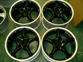 "Porsche BBs 18"" Carrera II Wheels Rims Genuine 996 993 928 964 968 944 GT3"
