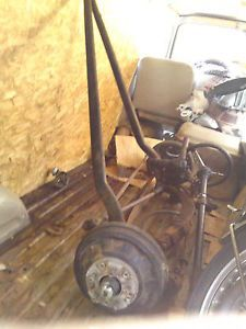 Rat Rod Hot Rod Custom Car 1947 Ford Front Suspension