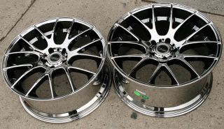 "Bremmer Kraft BR05 20"" Chrome Rims Wheels BMW E39 E60 5 Series 20 x 8 5 20 x 10"