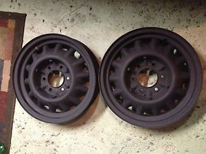 "2 17"" inch Six Lug Artillery Wheels Rims Chevy Car Truck Lowrider Bomb Accessory"