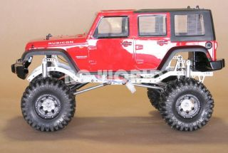 RC4WD 1 10 Rock Crawler RC Truck Jeep Wrangler Rubicon 2 4GHz RTR 90 Metal