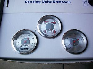 Gauges Hot Rod Classic Instruments Set of Three