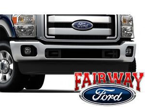 11 thru 14 Ford Super Duty F250 F350 Ford Parts Fog Lamp Light Kit XLT Model