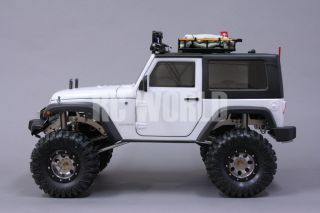 1 10 Rock Crawler RC Truck Jeep Wrangler Rubicon Expedition RTR 90 Metal