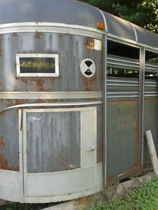 Bonanza 4 Horse Stock Trailer
