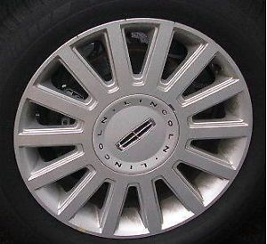 "3504B Lincoln Town Car 03 04 05 17"" Used Wheels Car Rims Parts Alloy"