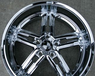 "Bremmer Kraft BR02 19"" Chrome Rims Wheels Ford Explorer"