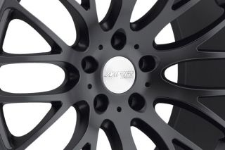 "22"" MRR HR6 Matte Black Concave Wheels Rims Fits Porsche Panamera s 4S Turbo"