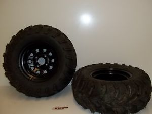 Yamaha Raptor Big Bear Wolverine ITP Mud Lite Tires 25x10 12 4 115R Y16