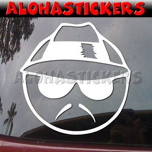 Low Rider Mexican Gangster Car Graphics Die Cut Vinyl Decal Window Sticker Q1