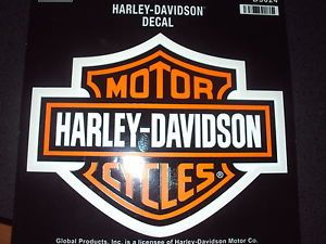 Large Harley Davidson Trailer Car Truck Decal Stickers