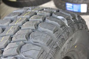 4 New Lt 285 70 17 Gladiator M T Mud Terrain Tires 285 70R17 Load E Free SHIP