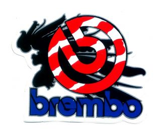 Brembo Brakes Racing Motorcycle Car Decal Sticker V100